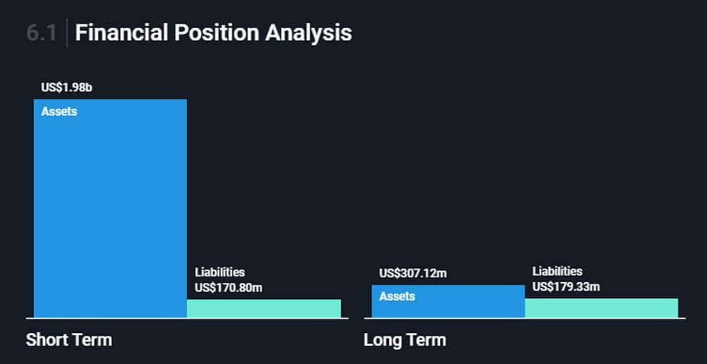 assets en liabilities van pinterest