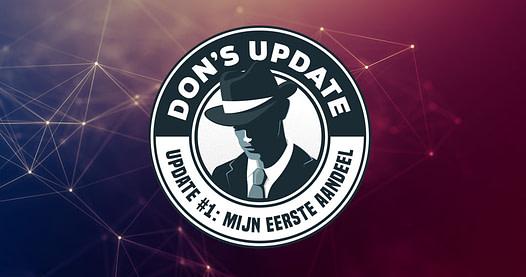 Mister Don Update #1: mijn eerste aandeel.