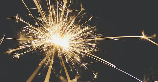 visual van vuurwerk